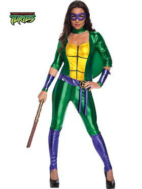 Sexy Donatello Jumpsuit Women's Costume