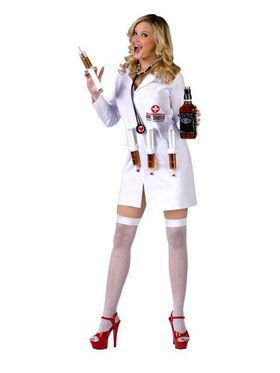 Sexy Dr. Shots Adult Costume
