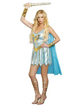 Sexy Dragon Warrior Queen Women's Costume