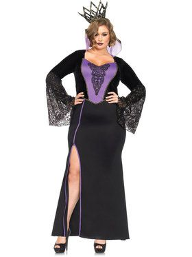 Sexy Evil Queen Plus Women's Costume