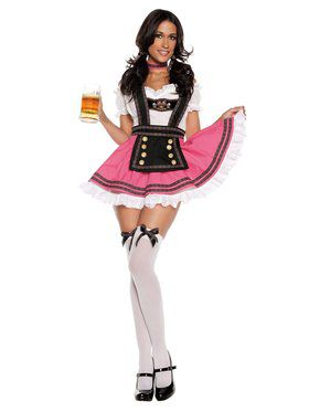 Sexy Fancy Beer Girl Adult Costume