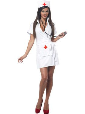 Sexy Fashion Nurse Women's Costume