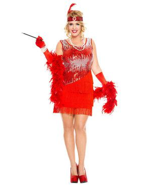 Sexy Fearless Flapper Costume