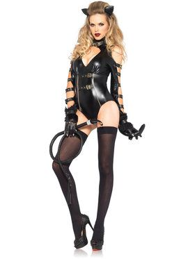 Sexy Fetish Feline Women's Costume