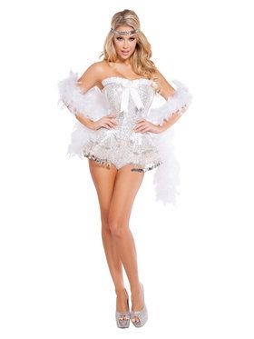 Sexy Flirty Flapper Costume