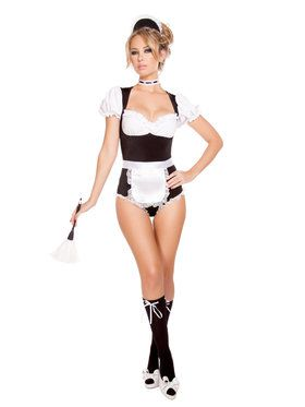 Sexy Foxy Cleaning Maiden Costume