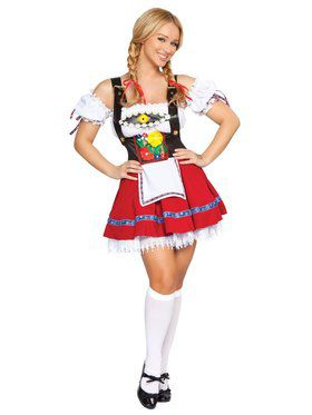 Sexy Fraulein Sweetheart Beer Girl Adult Costume