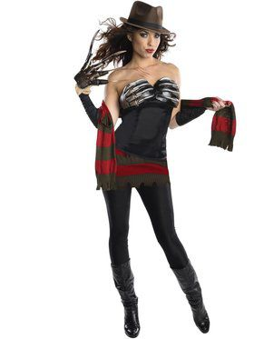 Sexy Freddy Corset Women's Costume