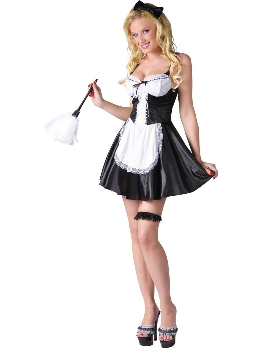 ae785f8adf66d Sexy French Maid Adult Costume - Womens Costumes for 2018 ...
