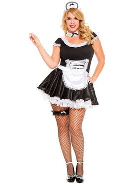 Adult Sexy French Maid Costume