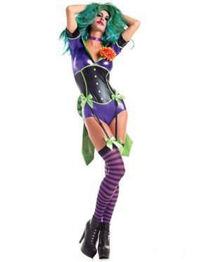 Sexy Funny Lady Villain Women's Costume