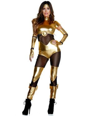 Sexy Classic Golden A.I. Costume