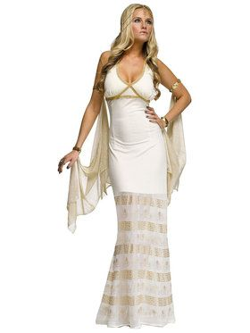 Sexy Golden Goddess Women's Costume