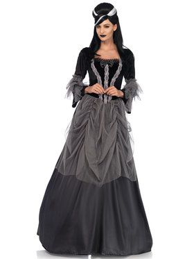 Sexy Gothic/Renaissance Velvet and Satin Victorian Ball Gown Women's Costume