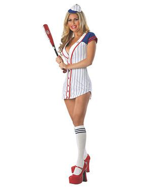 Sexy Grand Slam Baseball Player Adult Costume