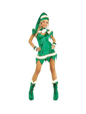 Sexy Green Elf Adult Costume