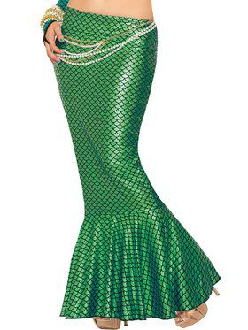 Sexy Green Mermaid Skirt Women's Costume