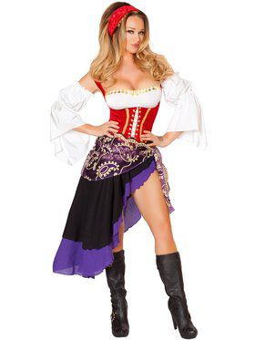 Sexy Gypsy Maiden Women's Costume
