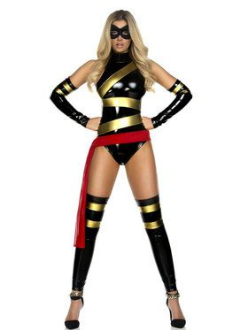 Sexy Haute Hero Womens Costume