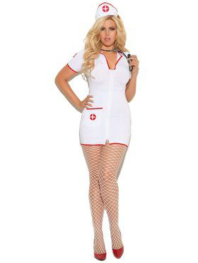 Sexy Head Nurse Plus Size Women's Costume