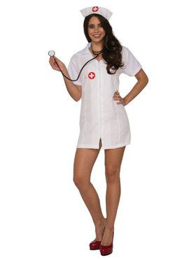 Sexy Head Nurse Womens Costume