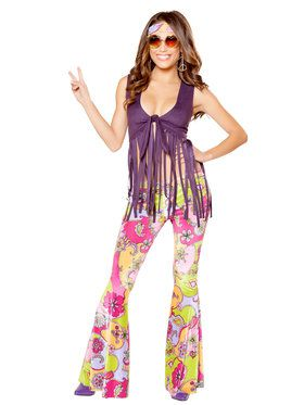 Sexy Hippie Lover Costume