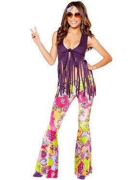 Sexy Hippie Lover Women's Costume