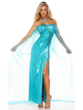 Sexy Adult Ice Princess Costume