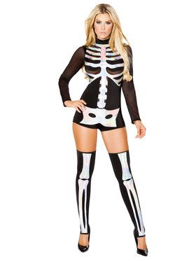 Sexy Jackie Skeleton Costume