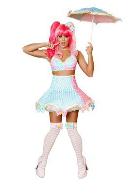 Sexy Lady Laughter Deluxe Clown Adult Costume