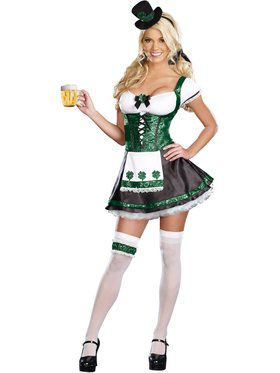 Sexy Lady Luck Women's Costume
