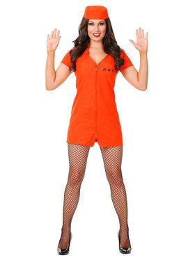 Sexy Locked Up! Womens Costume