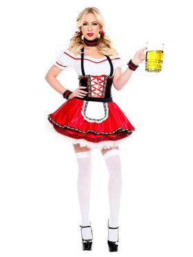 Sexy Classic Lovable Oktoberfest Baby Costume