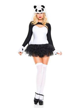 Adult Sexy Lovely Panda Costume