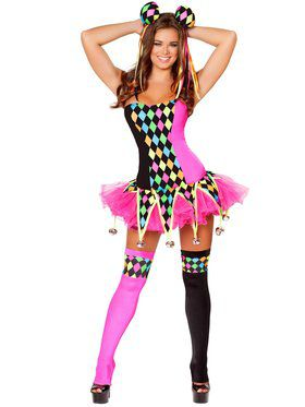 Sexy Lusty Laughter Women's Costume