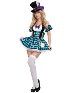 Sexy Mad Hatter Women's Costume