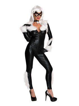 Sexy Black Cat Marvel Costume for Women
