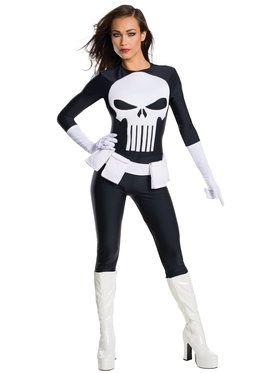 Sexy Marvel Sexy Punisher Women's Costume