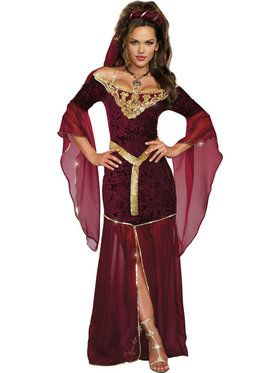 Sexy Medieval Enchantress Women's Costume