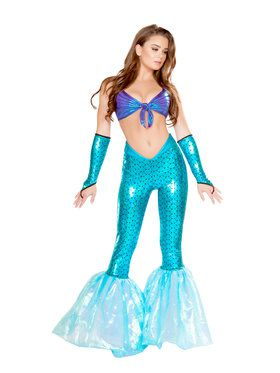 Sexy Mermaid Vixen Costume