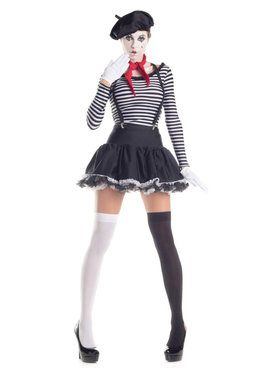 Sexy Mesmerizing Mime Women's Costume