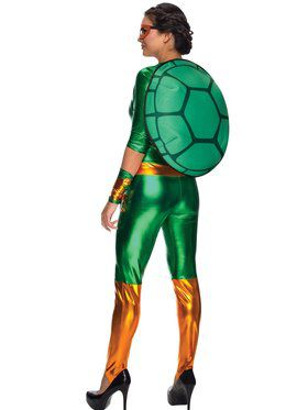 Sexy Michelangelo Jumpsuit Women's Costume