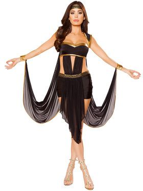 Women's Sexy Midnight Goddess Adult Costume