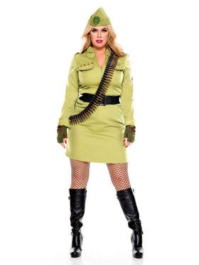 Classic Sexy Military Cadet Costume
