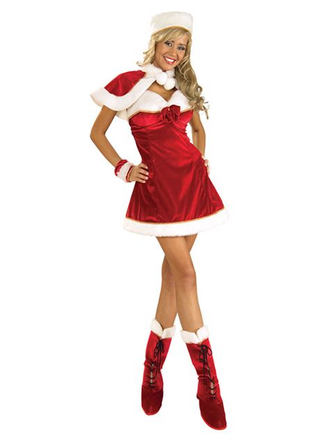 Rubie's Sexy Mrs. Claus Costume Suit
