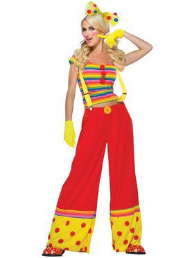 Sexy Moppie The Clown Women's Costume