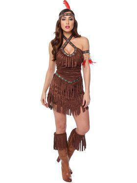 Sexy Native American Maiden Women's Costume