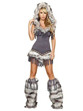 Sexy Native American Temptress Deluxe Indian Adult Costume
