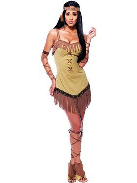 Sexy Native Indian Maiden Adult Costume