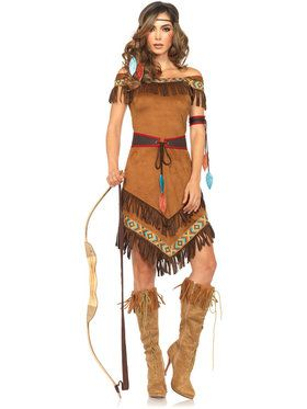 Sexy Native Princess Women's Costume